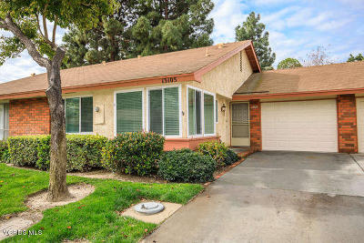 Ventura County Single Family Home Active Under Contract: 13105 Village 13
