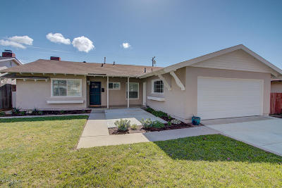 Ventura Single Family Home For Sale: 5248 Lafayette Street