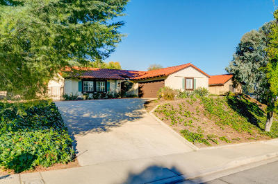 Newbury Park Single Family Home For Sale: 215 Lynn Oaks Avenue
