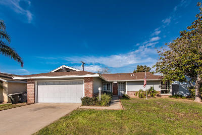 Oxnard Single Family Home For Sale: 2301 Mono Street