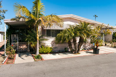 Oxnard Mobile Home Active Under Contract: 325 Columbia Place