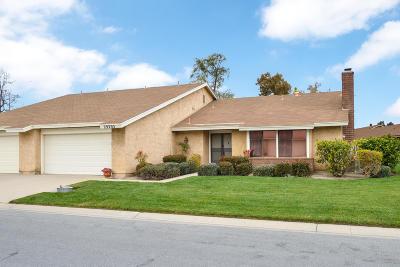 Camarillo Single Family Home For Sale: 29203 Village 29