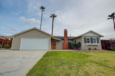 Ventura CA Single Family Home For Sale: $625,000