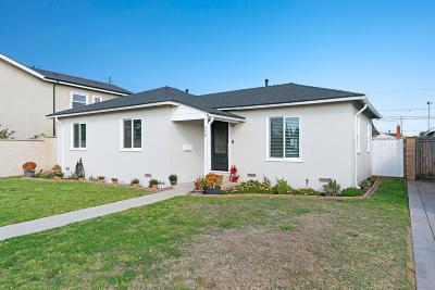Ventura County Single Family Home For Sale: 340 J Street