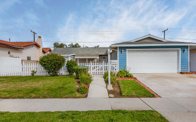 Oxnard CA Single Family Home For Sale: $539,000