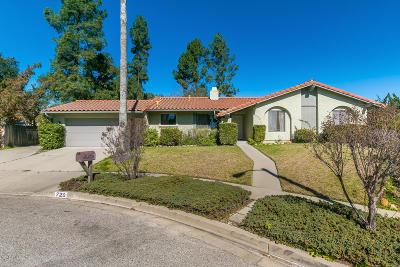 Ojai Single Family Home For Sale: 720 Alomar Street