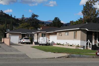 Santa Paula Multi Family Home Active Under Contract: 821 E Santa Paula Street