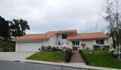 Westlake Village Single Family Home For Sale: 1539 Folkestone Terrace