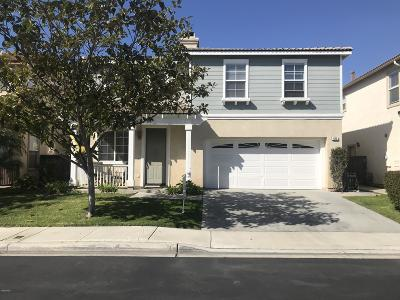 Oxnard Single Family Home For Sale: 825 Noontide Way