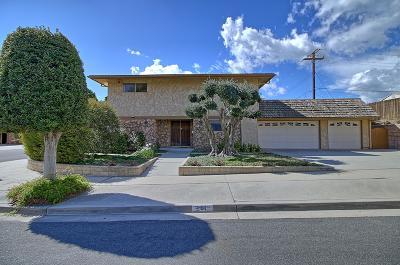 Ventura Single Family Home Active Under Contract: 291 Revere Avenue