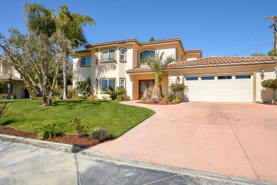 Camarillo Single Family Home For Sale: 409 W Loop Drive