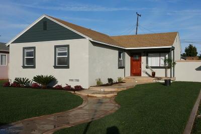 Oxnard Single Family Home Active Under Contract: 100 H Street