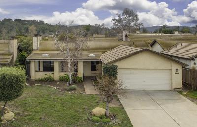Ojai Single Family Home Active Under Contract: 930 Hackamore Street