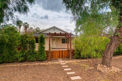 Ojai Single Family Home For Sale: 207 Grand Avenue