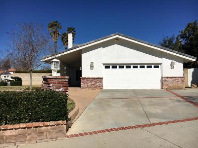 Simi Valley Single Family Home For Sale: 5756 Nutwood Circle
