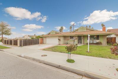 Camarillo Single Family Home Active Under Contract: 3307 Corby Avenue