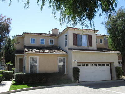 Camarillo Single Family Home Active Under Contract: 3930 Villamonte Court