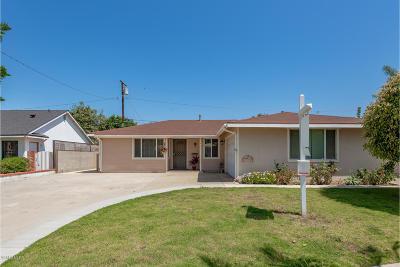 Ventura Single Family Home For Sale: 4011 Flower Street