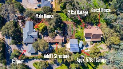 Ojai Single Family Home For Sale: 407 Del Norte Road