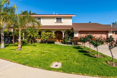 Oxnard Single Family Home For Sale: 1820 Dover Street