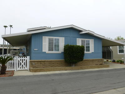 Oxnard Mobile Home For Sale: 280 Gaviota Place #151