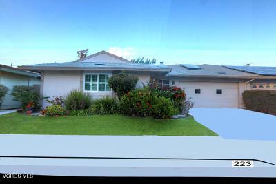 Port Hueneme Condo/Townhouse For Sale: 223 E Garden Green
