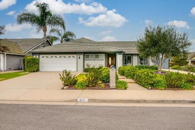 Camarillo Single Family Home Active Under Contract: 917 Comanche Court