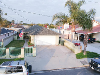 Ventura Single Family Home Active Under Contract: 1222 Amapola Avenue