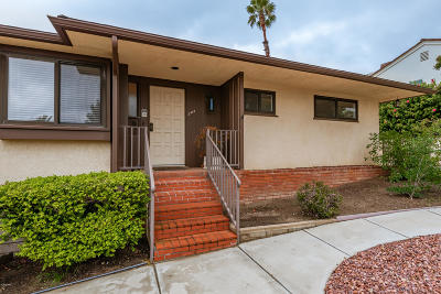 Ventura Single Family Home For Sale: 325 Carol Drive
