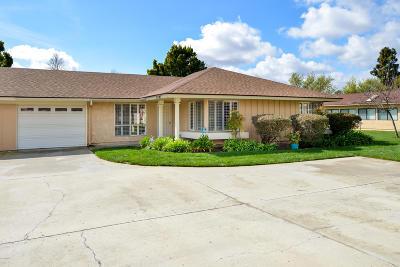 Camarillo Single Family Home For Sale: 25307 Village 25