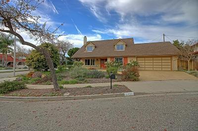 Ventura Single Family Home For Sale: 6351 Burnett Court