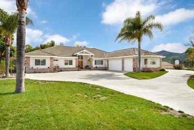 Camarillo Single Family Home For Sale: 2042 Vista Alcedo