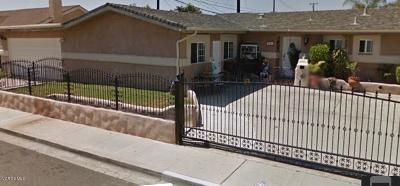 Oxnard Single Family Home Active Under Contract: 2201 S M Street