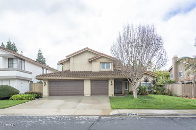 Moorpark Single Family Home Active Under Contract: 12568 Crystal Ranch Road