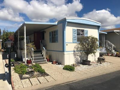 Ventura County Mobile Home For Sale: 59 Via Sintra