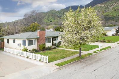 Ojai Single Family Home Active Under Contract: 1101 Mercer Avenue