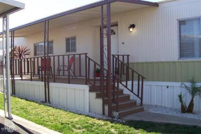 Santa Paula Mobile Home For Sale: 265 Beckwith Road #10a