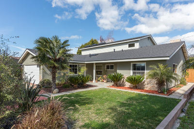 Ventura Single Family Home For Sale: 5285 Lafayette Street