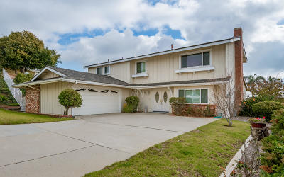 Ventura Single Family Home Active Under Contract: 372 McGill Avenue