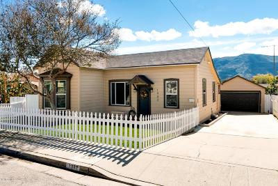 Ventura County Single Family Home Active Under Contract: 1332 Richmond Road