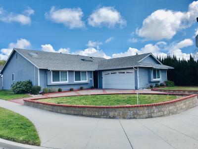 Ventura Single Family Home For Sale: 256 Millbrae Court