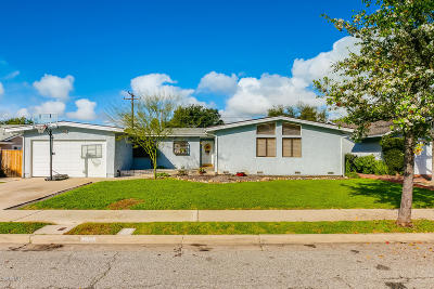 Ojai Single Family Home Active Under Contract: 1005 Mercer Avenue