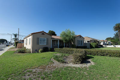 Oxnard Single Family Home Active Under Contract: 202 Palm Drive