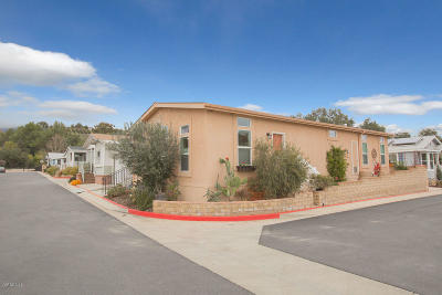 Ojai Mobile Home Active Under Contract: 1885 Maricopa Hwy Highway #21