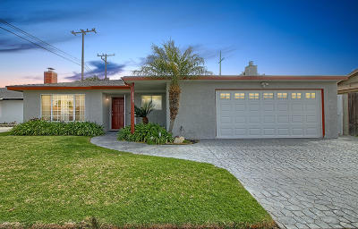 Oxnard Single Family Home Active Under Contract: 1320 M Street