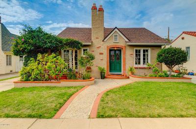 Ventura Single Family Home For Sale: 389 Brent Street
