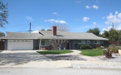 Camarillo Single Family Home For Sale: 871 Tabor Circle