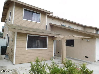 Santa Paula Condo/Townhouse For Sale: 129 Steckel Drive