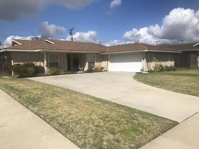 Camarillo Single Family Home Active Under Contract: 1463 Anacapa Drive
