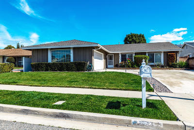 Simi Valley Single Family Home Active Under Contract: 2484 Marisa Place